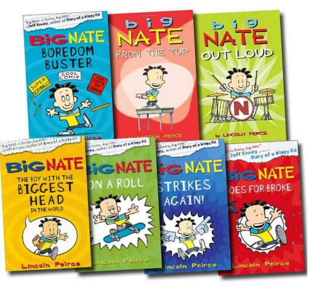 Image result for Big Nate Series