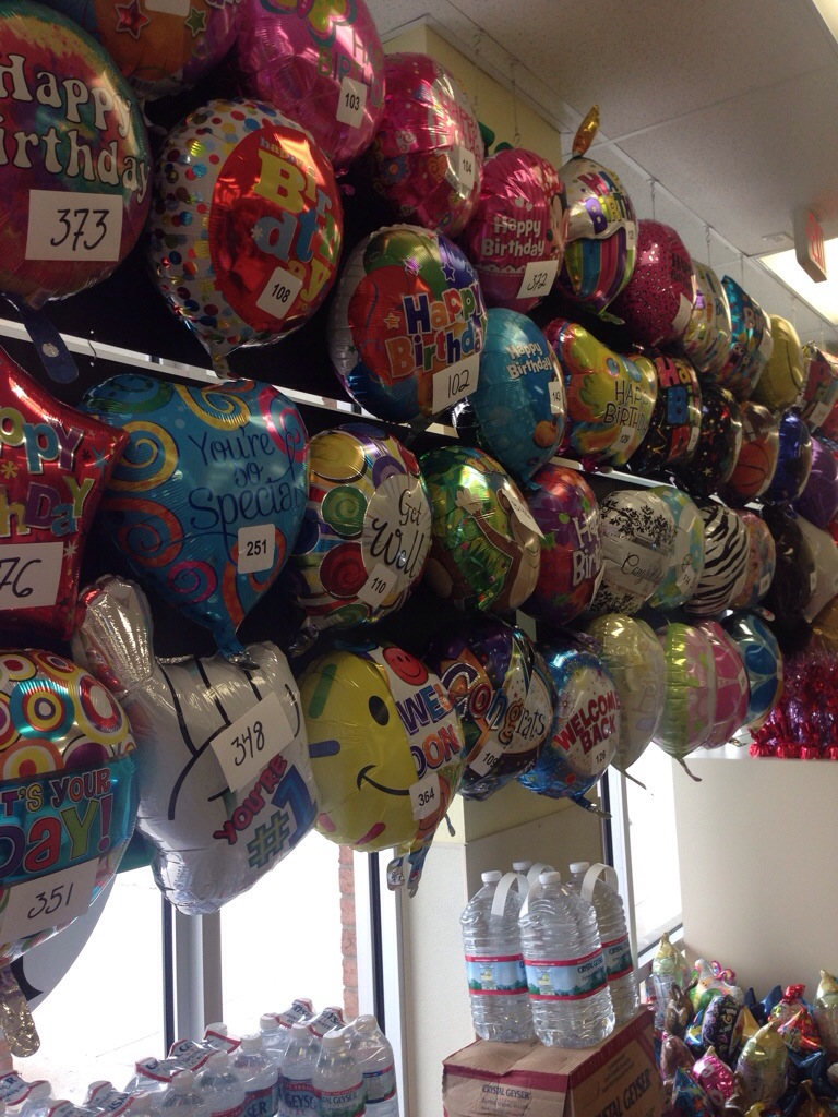 Helium Balloons Dollar Tree