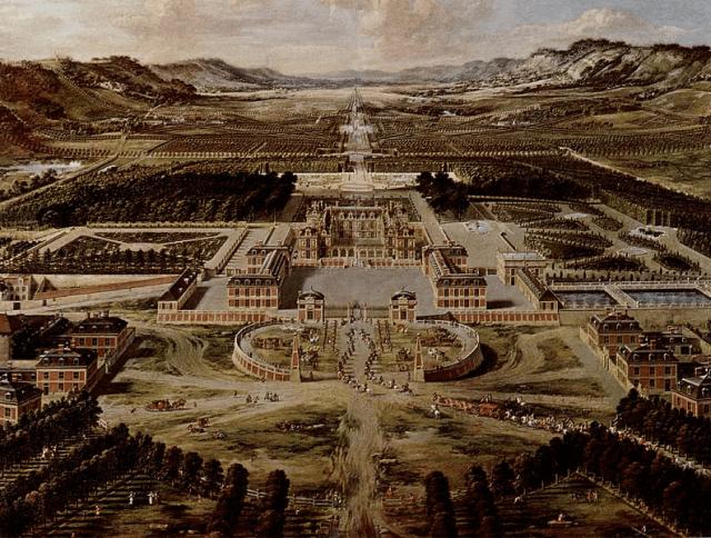 Le château après le premier agrandissement en 1668 / Photo RMN-Grand Palais  / Gérard Blot