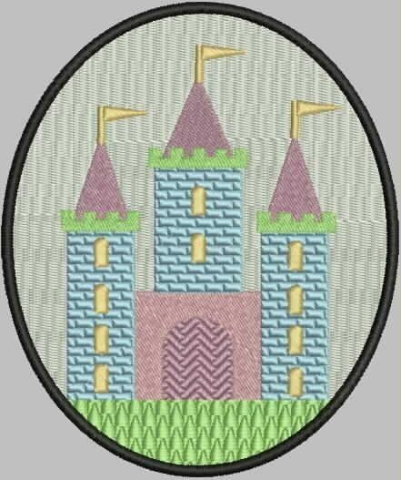 broderie château