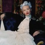 Retrato de una dama. Vogue Espagne