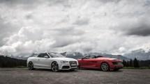 #thepluses2 - Audi R8 V10 Spyder und RS5 Cabriolet am Col des Saisies | Route des Grandes Alpes, Frankreich, France