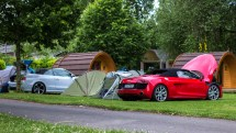 #thepluses2 - Camping am Genfer See - Audi R8 V10 Spyder RS5 Cabriolet