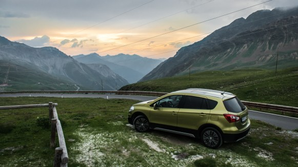 Suzuki SX-4 S-Cross 1.6 DDiS am Stilfser Joch