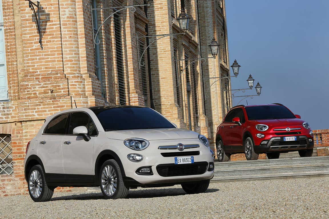 der neue fiat 500x city crossover in chic anzeige. Black Bedroom Furniture Sets. Home Design Ideas