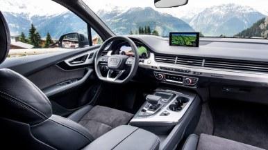 Neuer Audi Q7 2015 2016 Innenraum
