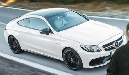 Geleakte Fotos: Mercedes AMG C63 S Coupé (C205, MJ 2016)