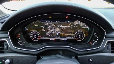 Audi A4 B9 Virtual Cockpit