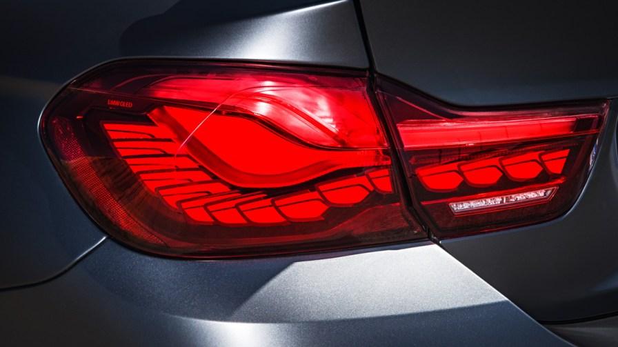 Neuer BMW M4 GTS OLED Rückleuchten