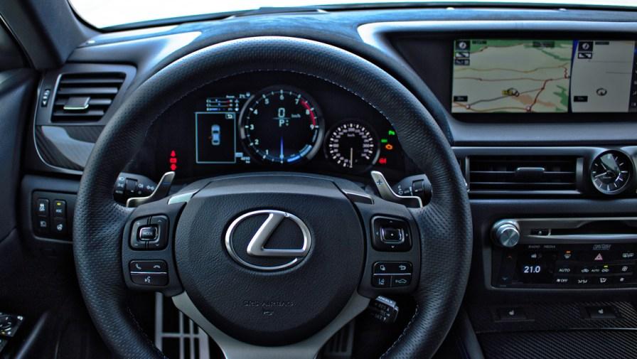 2016 Lexus GS F Innenraum / Mario von Berg