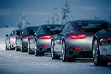 "Porsche Driving Experience ""Ice Force"" in Levi, Finnland - Porsche 911 Carrera 4S 991.2"