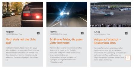 Blog-Nachbarschaft: Relaunch des OSRAM Autolichtblog