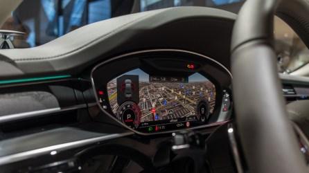 Virtual Cockpit im 2018 Audi A8