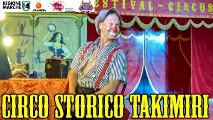 """Il Circo Storico Takimiri in """"Diretta diretto al Cuore"""""""