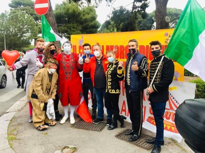manifestazione circo in sicilia