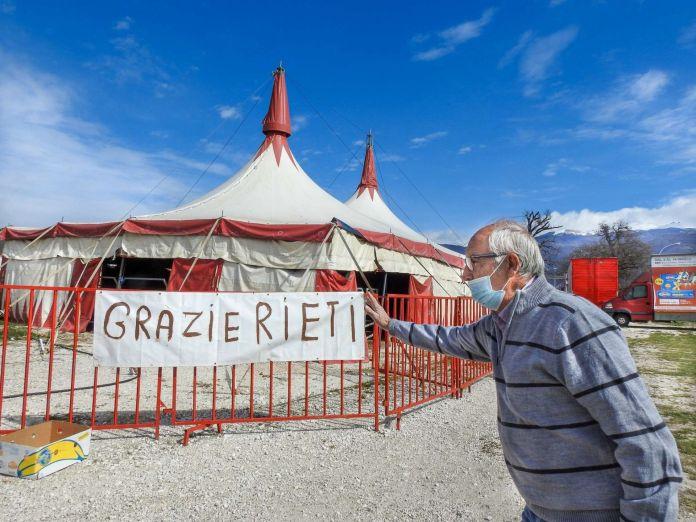 Rolando Orfei bloccato a Rieti - 1