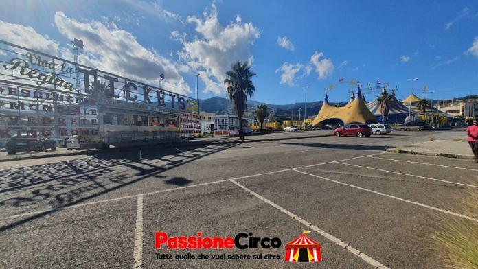 """Il Circo Orfei """"Darix Martini"""" se ne va """"Grazie Messina, popolo straordinario"""""""
