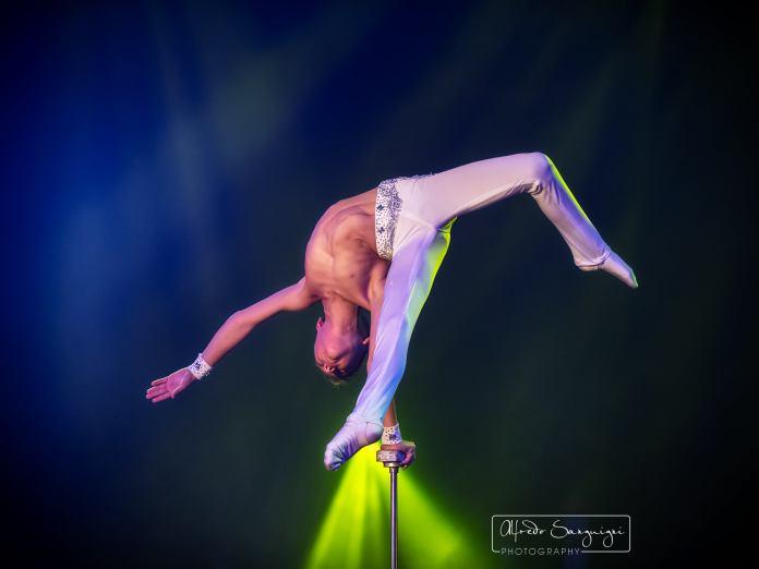 Gabriel Dell'acqua al Circo Medrano