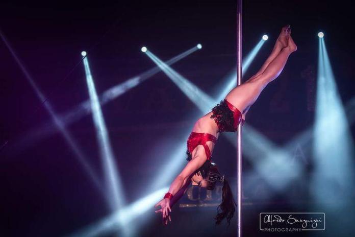 Victoria Ardisson al Circus Princess Festival