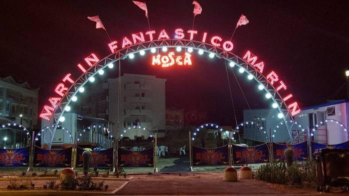 Trittico strepitoso, il Circo Bellucci con le attrazioni del Circo di Mosca e il Circo Royal a San Severo