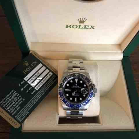 Rolex GMT-Master II Batman Ref 116710BLNR