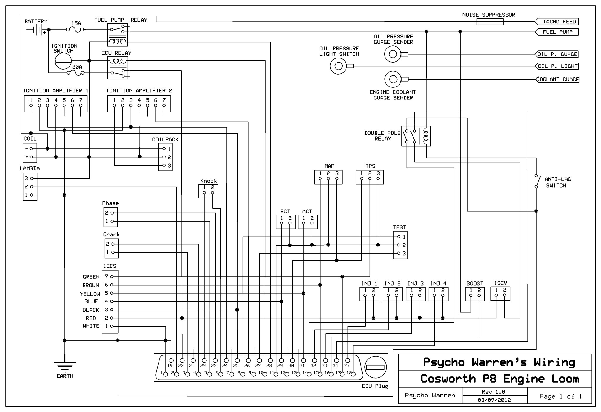 Wrg Ford Sierra Wiring Diagram