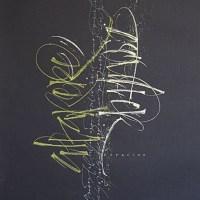 Gorgeous calligraphy