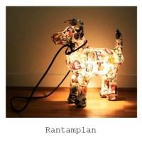 Marie Montagnier's adorable dog lamps