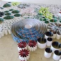 Orna Feinstein's 10,000 reused art invitations