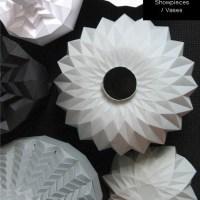 Romy Kuhne's paper vases