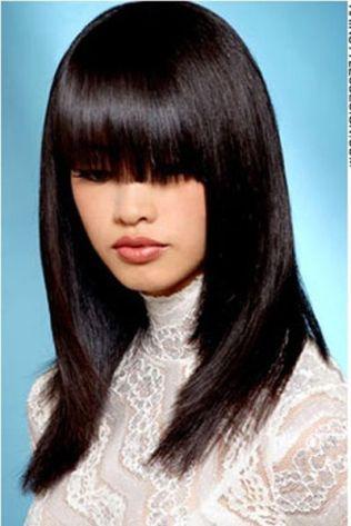 asian-sleek-black-straight-hairstyle