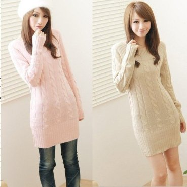 women-s-sweater-autumn-and-winter-all-match-medium-long-o-neck-twisted-sweater-outerwear-free