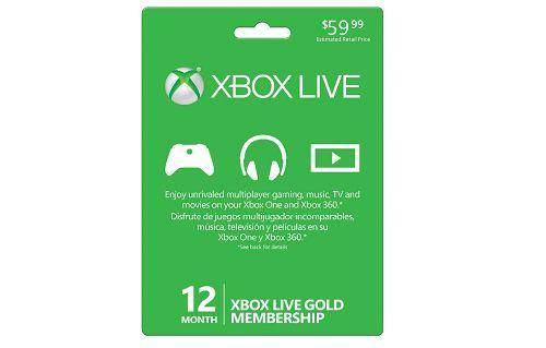 Xbox Live Gold Card Lowest Price Guarantee