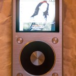 FiiO X5ii screen on