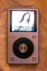 FiiO X5ii screen on