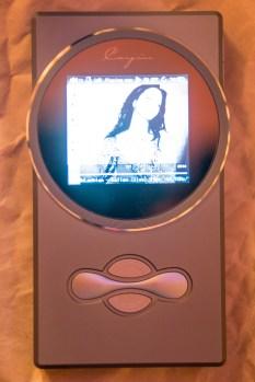 Cayin N6 screen on