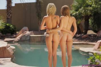 Passion Hd Dakota Skye & Natasha White in Getting The Pool Ready 3