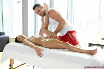 Passion Hd Karter Foxx in Work Out Rub Down 4