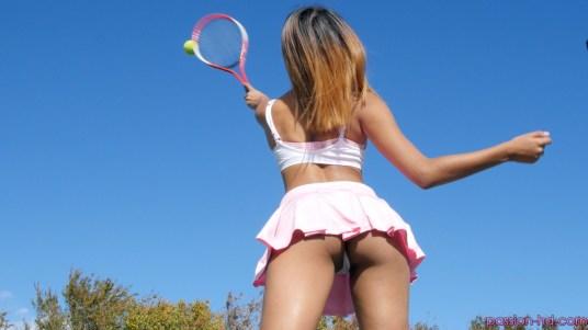Passion Hd Katalina Mills in Tennis Tease 15