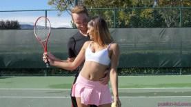 Passion Hd Katalina Mills in Tennis Tease 25