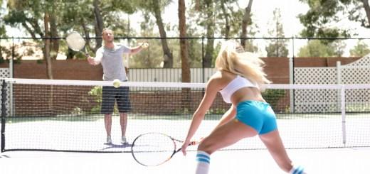Khloe Kapri in Khloe's Tennis Tryst 8