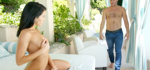 Megan Rain in Summer Day Deep Throat 6