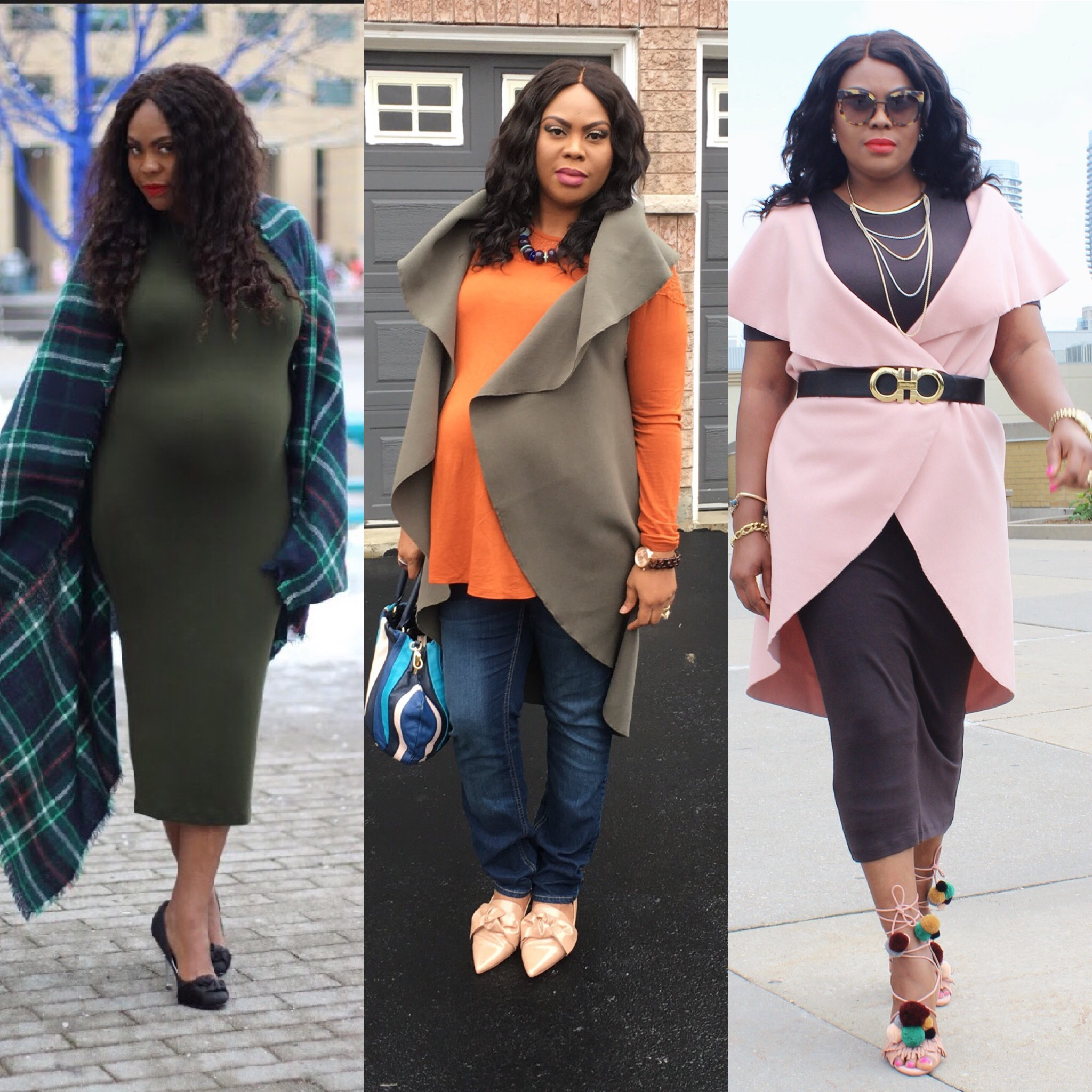 how i restyle pieces worn during pregnancy