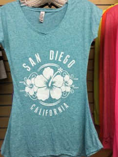 San Diego Flower Shirt