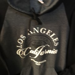 Los Angeles Black/Gray Shirt
