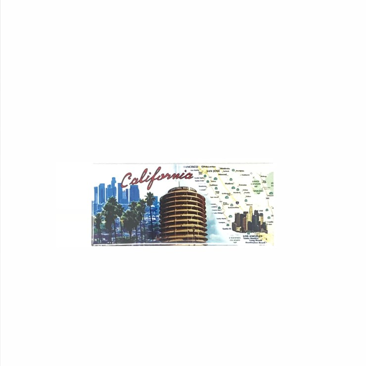 California Capitol Records Magnet Image