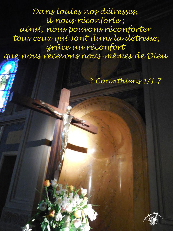 Commentaire 2 Corinthiens 1/ 1-7