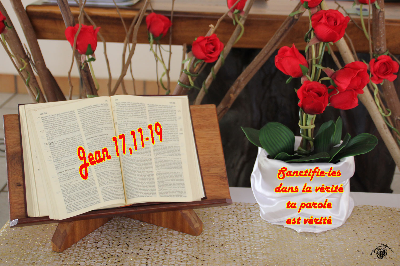 Commentaire de Jean 17,11b-19.