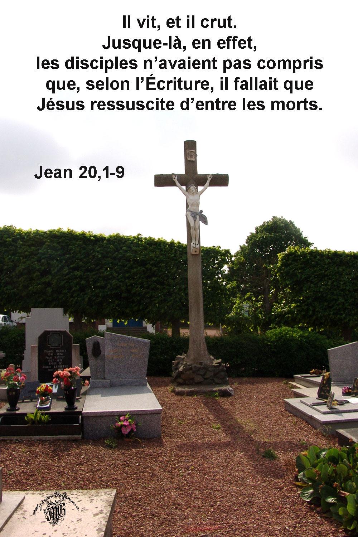Commentaire de Jean 20,1-9.
