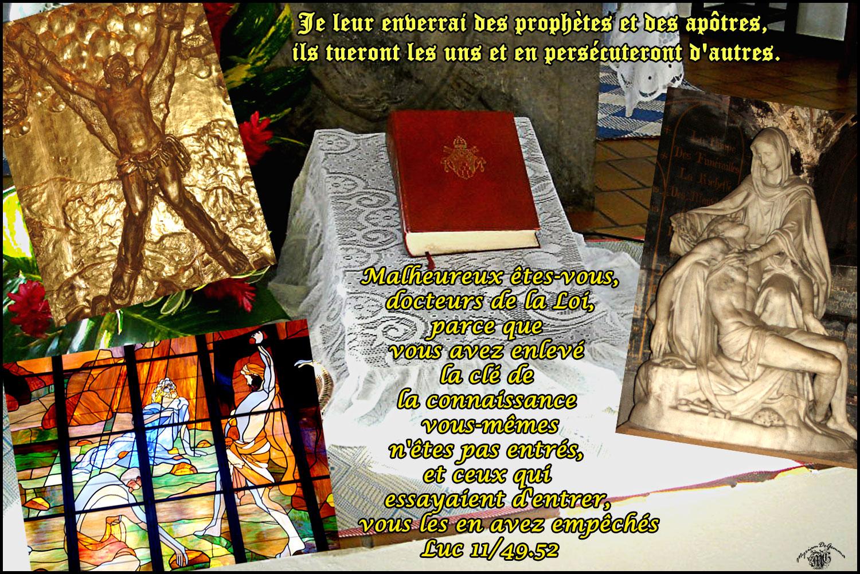 Commentaire de Luc 11,47-54
